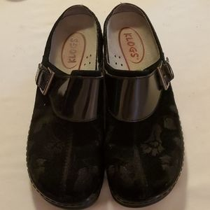 Klogs upper leather mules size 9M
